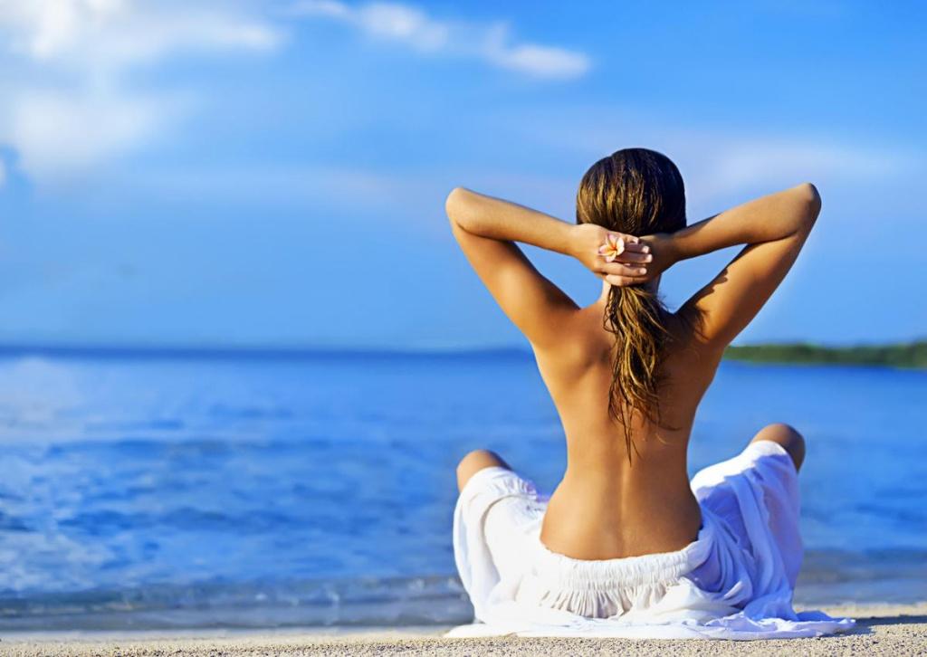 красивое женское тело фото со спины